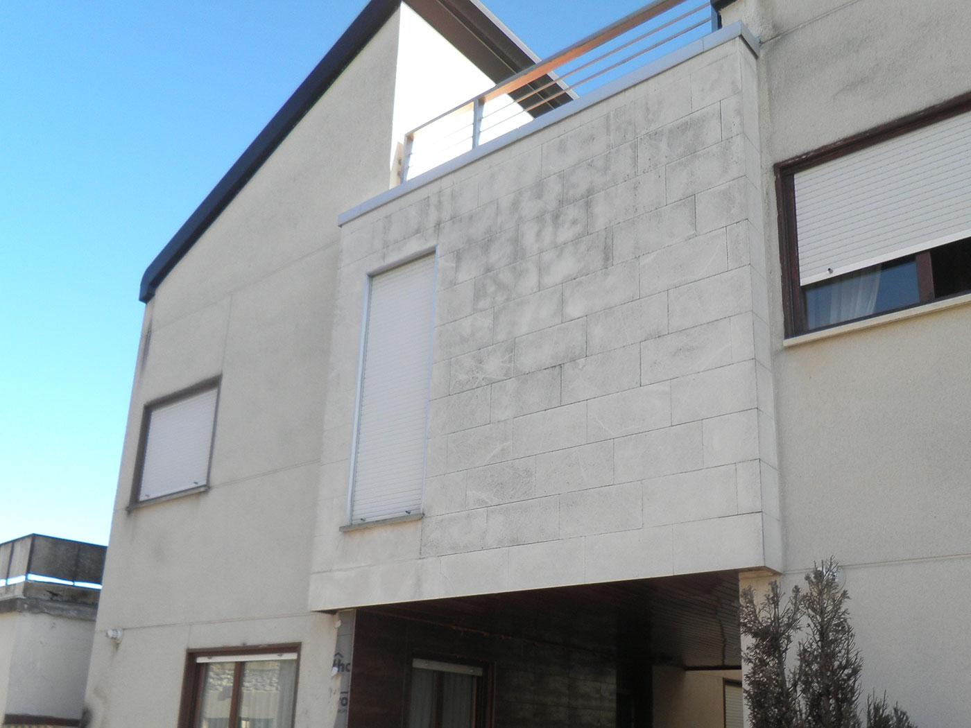 Reforma casa chalet individual vitoria antes proyecto