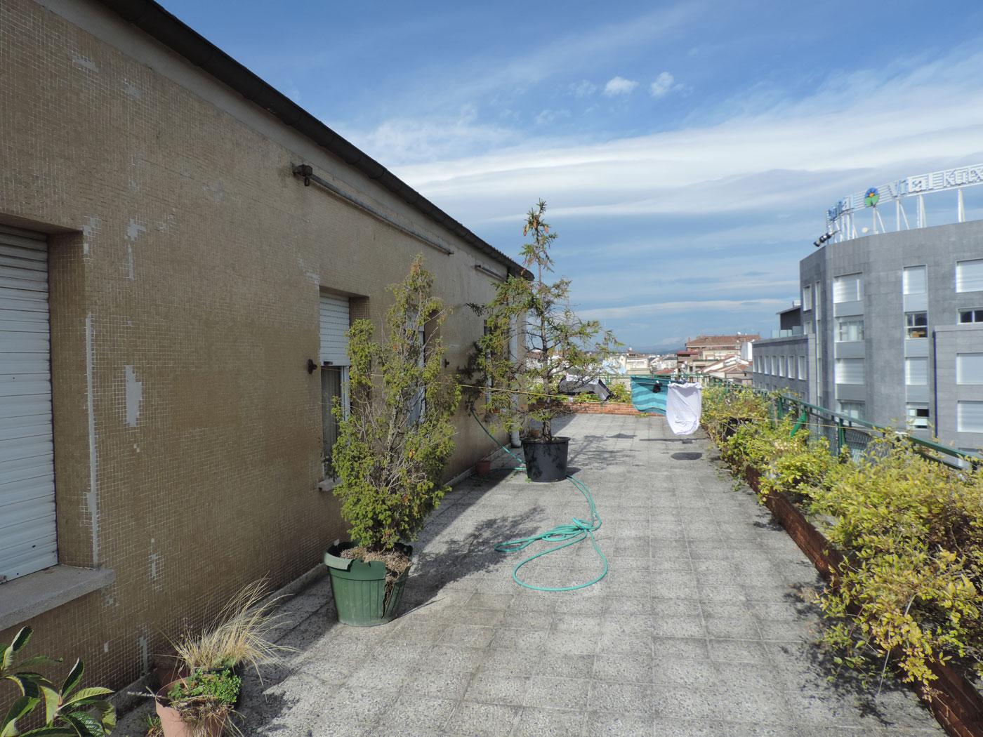 Reforma de terrazas en vitoria proyecto antes