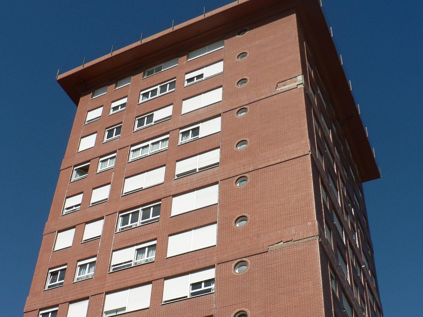 Reforma edificio en vitoria proyecto antes