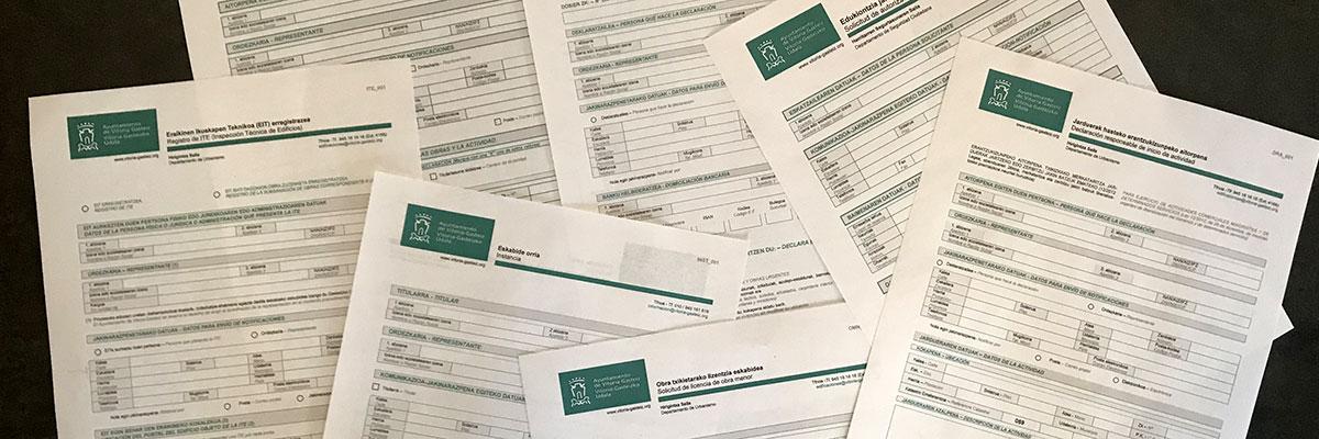 Obtención de licencias para obras y construcciones en Vitoria Gasteiz