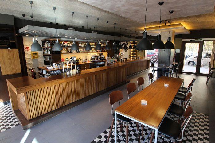 Reforma cafeteria bar vitoria proyecto