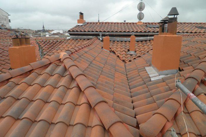 Reforma de tejados en Vitoria proyecto despues