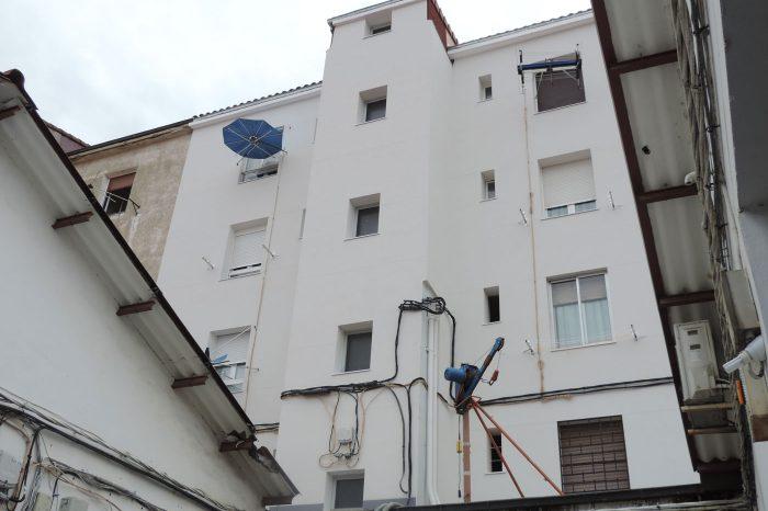 Reforma fachada exterior vitoria despues proyecto